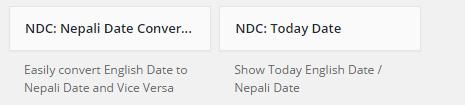Display Current Nepali Date in WordPress