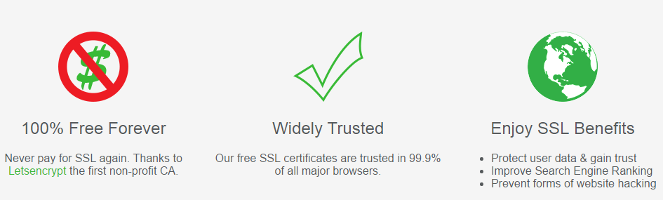 Free SSL For Your Domain