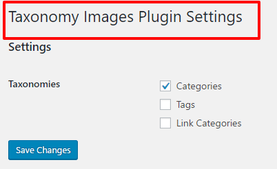 Display Thumbnail Images to Categories in WordPress