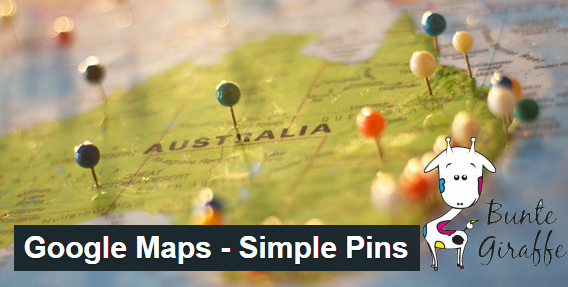 google maps simple pins the best free google map plugin you can