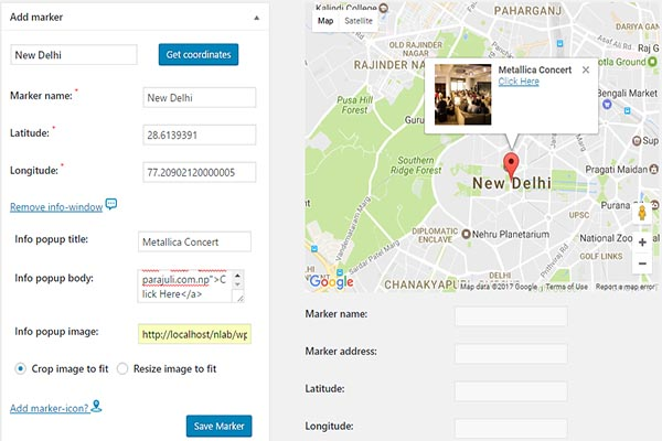 Google Maps-Simple Pins: The best Free Google Map Plugin You can
